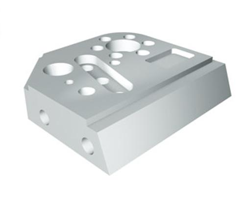 Practice workpiece product photo Front View L