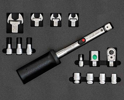 Torque wrench Kit, 5-60Nm product photo Front View L